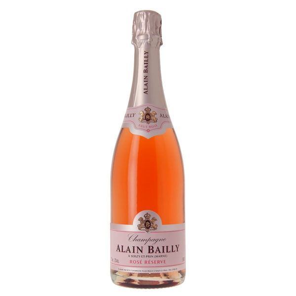 ALAIN BAILLY <br><span>Champagne Brut Rosé 75 cl</span>