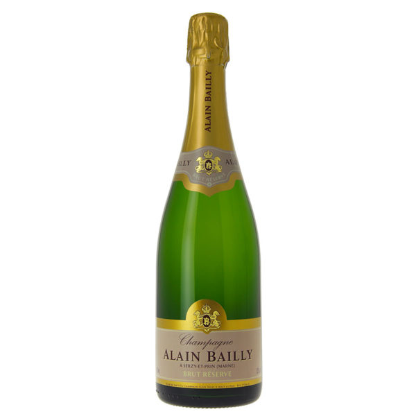 ALAIN BAILLY <br><span>Champagne Brut 75 cl</span>